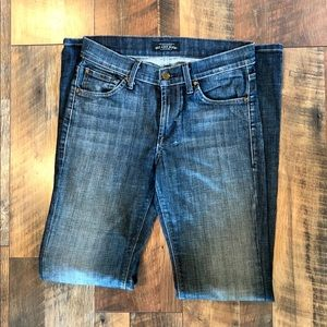 JAMES CURED BY SEUN Dry Aged Denim BootCut Jeans